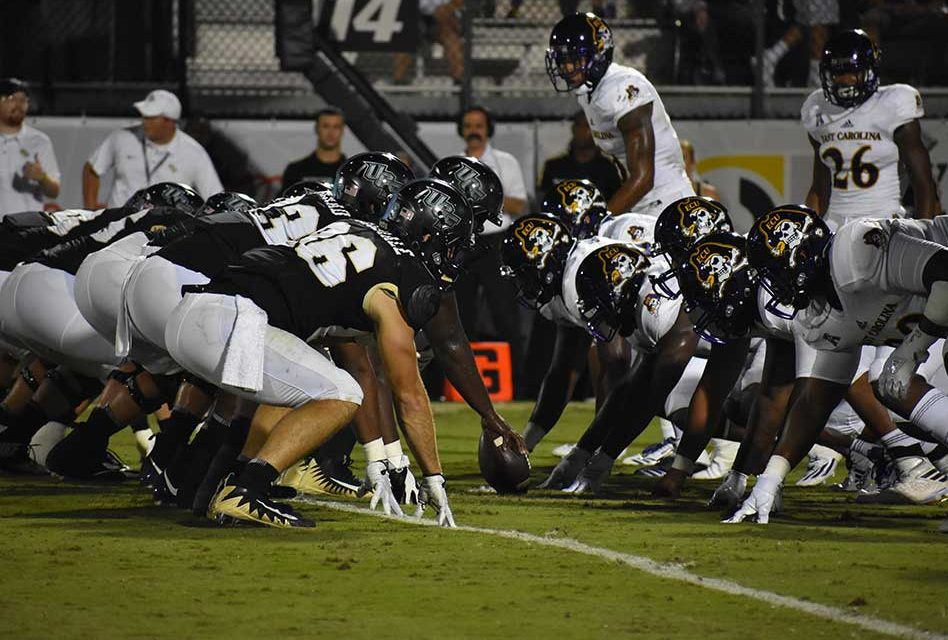 No 22 Ucf Routs East Carolina 63 21 Saturday Night