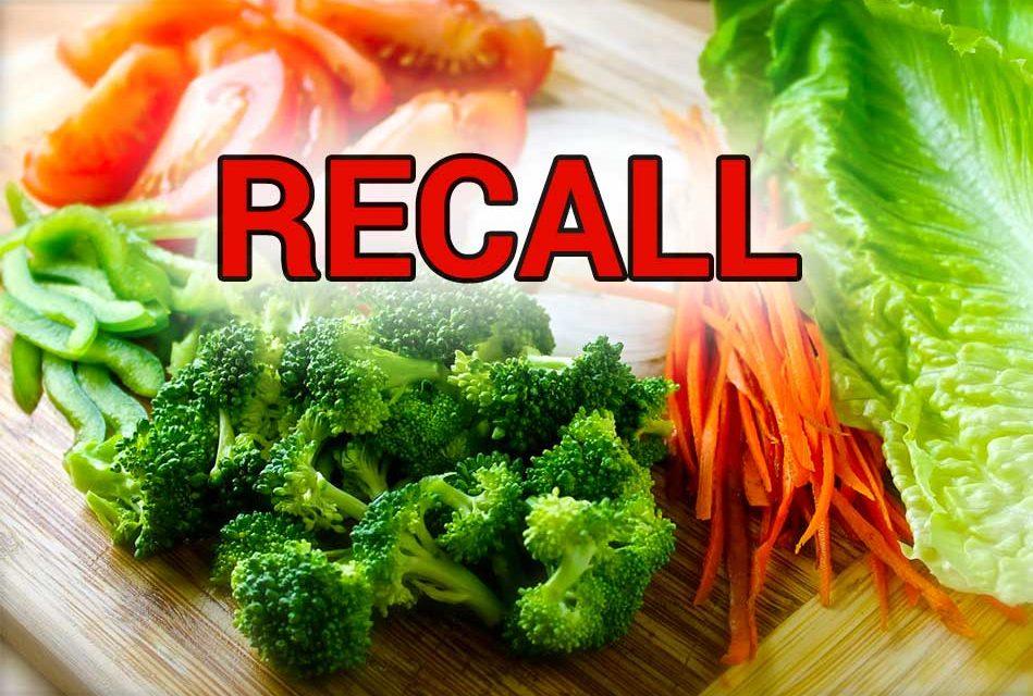 Listeria Concerns Spark Vegetable Recall, Including WalMart and Aldi