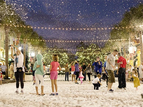 Town of Celebration Christmas Snow