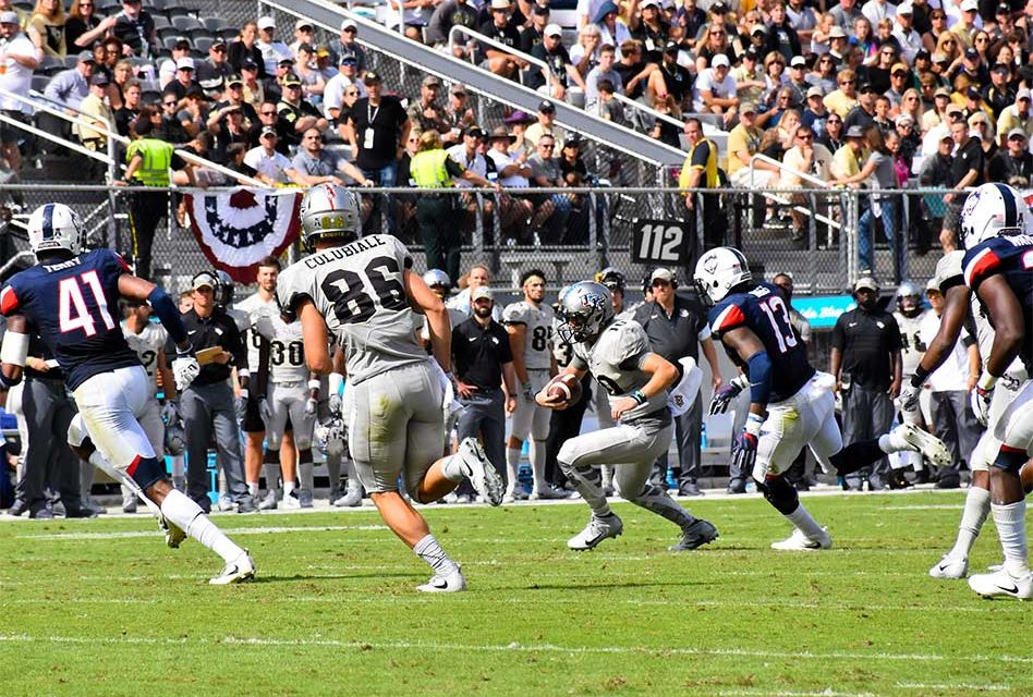 UCF Knights Take Down UCONN 49-24 and Remain Undefeated at 9-0