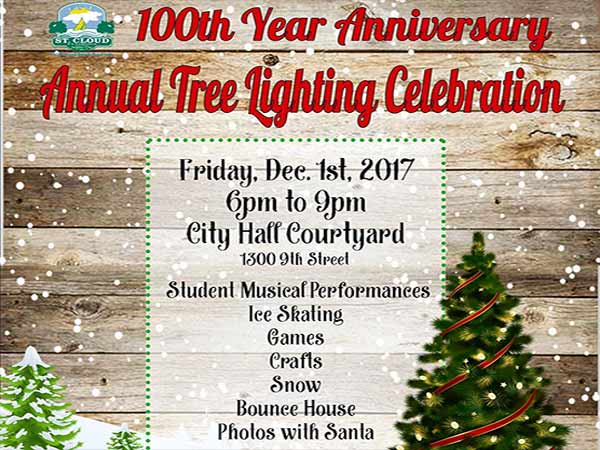 St. Cloud Christmas Tree Lighting