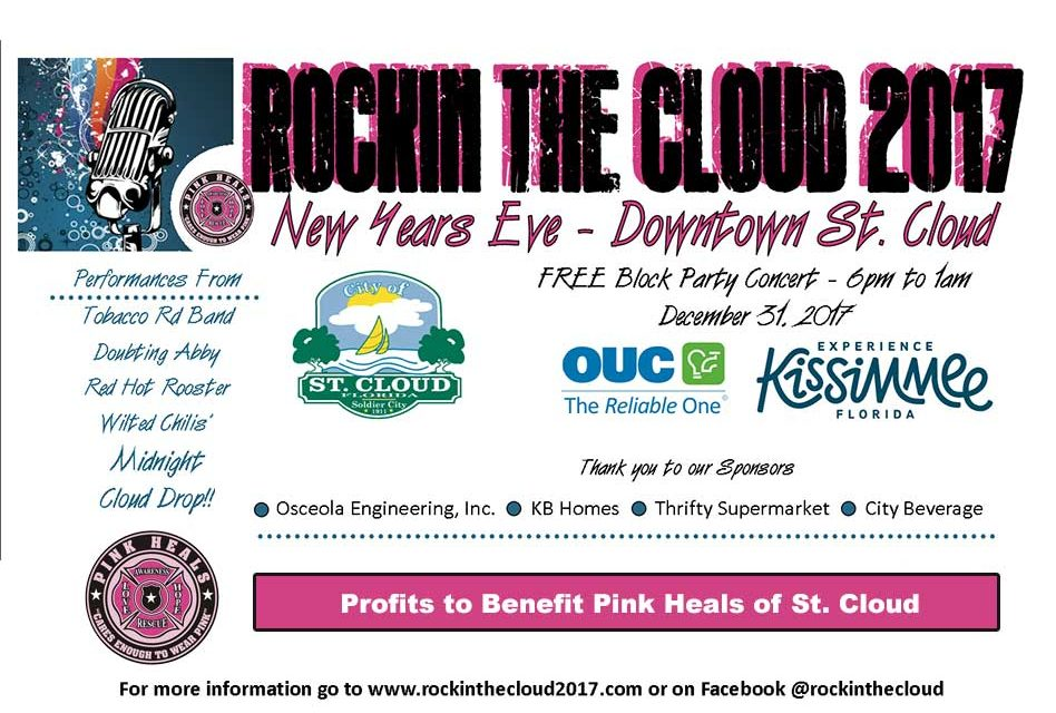 FREE Rockin' the Cloud Block Party Concert Coming Back to St. Cloud New Year's Eve!