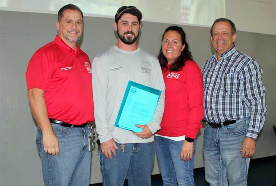City of St. Cloud Names Ricky Stayer as 2017 Employee of the Year