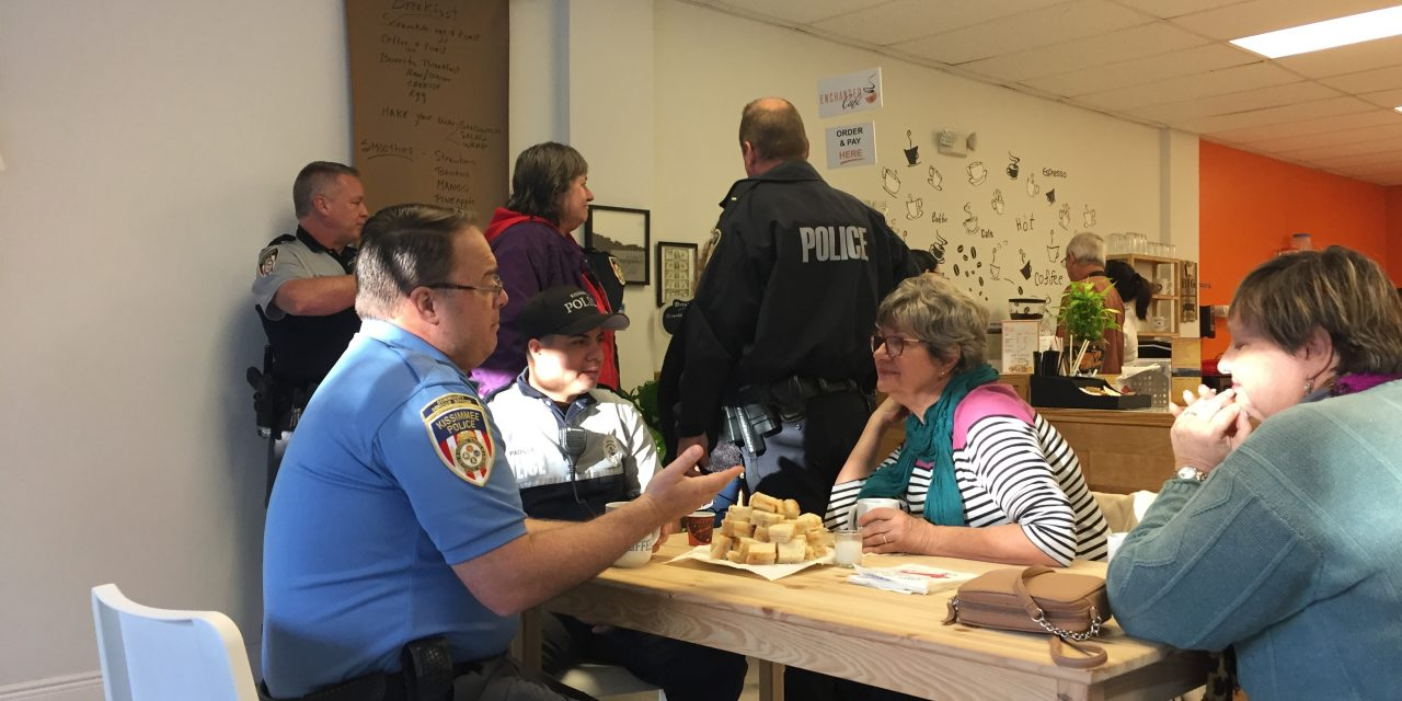 Kissimmee Coffee with a Cop Creates Community Conversations
