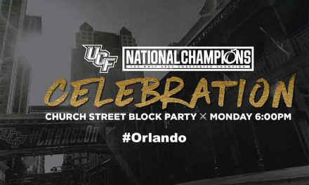 UCF Knights National Championship Celebration In Downtown Orlando Monday Night!