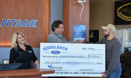 Kisselback Ford Honors and Supports Local Veteran and McCormick Research Center