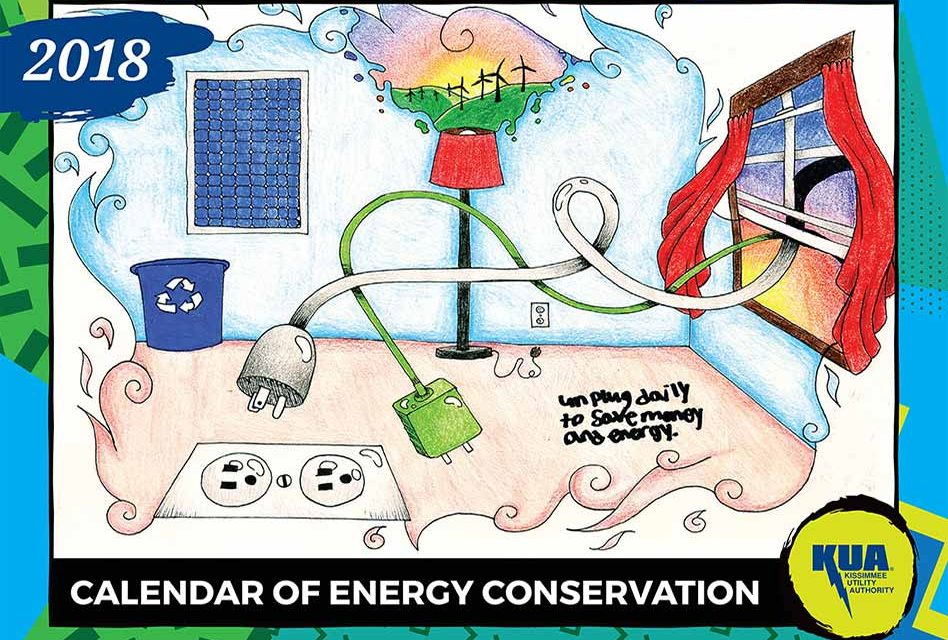 Kissimmee Utility Authority Releases 2018 Energy Conservation Calendar