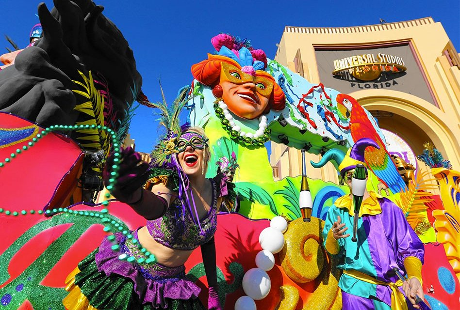 Universal Orlando Resort Announces its Headlining Acts for its Upcoming 2018 Mardi Gras Celebration