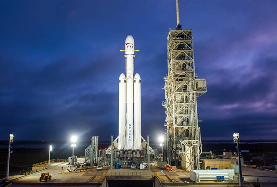 SpaceX Falcon Heavy Launch Inaugural Flight Set to Launch Today