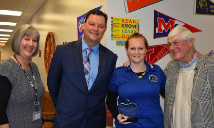 School District of Osceola County Honors its First Featured Teacher of the Month for 2018!