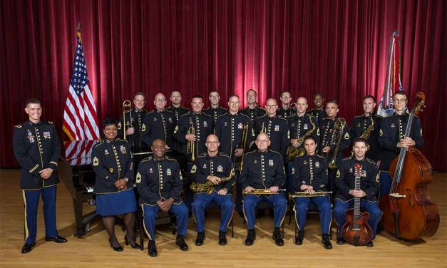 Jazz Ambassadors of The U.S. Army Field Band Performing at Epcot March 1