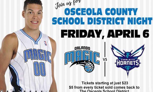 Join the Osceola School District for a Night of Orlando Magic Basketball Fun!