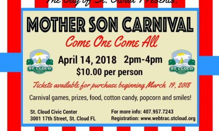 City of St. Cloud Hosts Mother Son Carnival April 14th