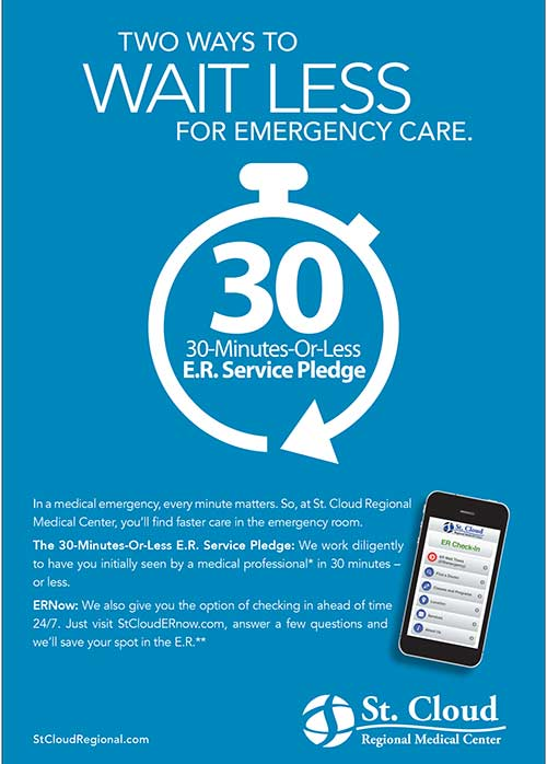 St. Cloud Regional ER Pledge