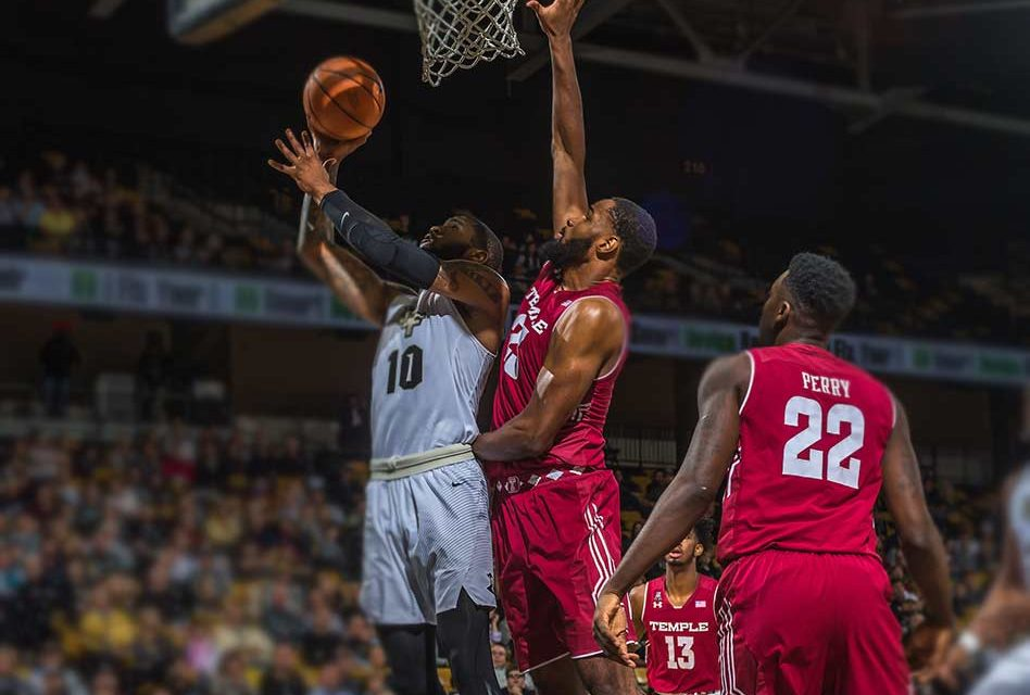 UCF Knights Men's Basketball Topped by Temple