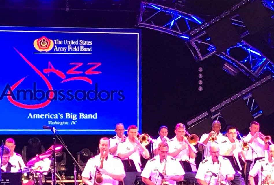 The Jazz Ambassadors of The Army Field Band Were Swinging at EPCOT