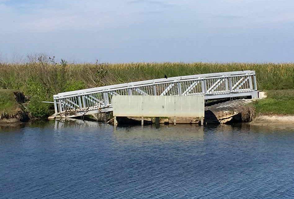 St. Cloud Lakeshore Walking Bridges Near Repair Start