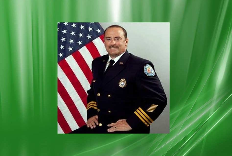 New St. Cloud Fire Chief to Start Work Monday March 26