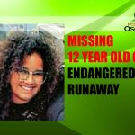 Missing 12 Year Old Child Alert – Endangered Runaway