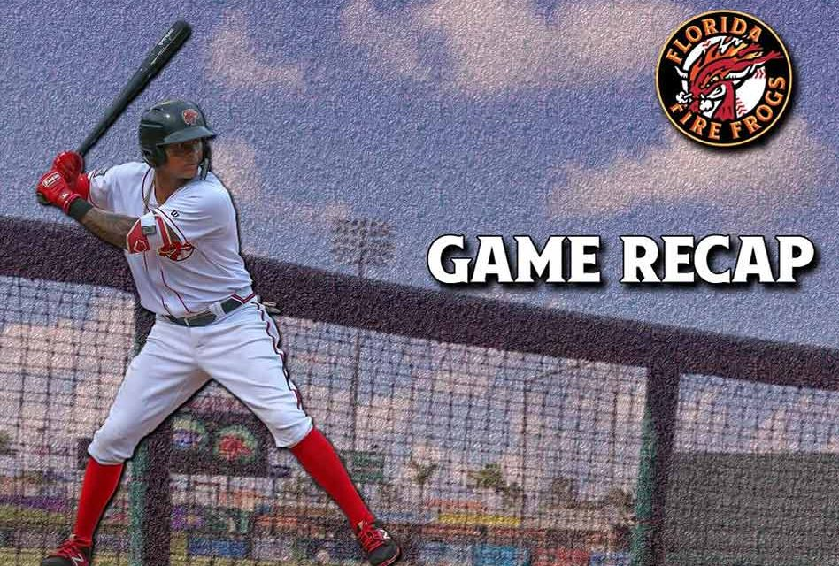 Florida Fire Frogs Get Shutdown by Fort Myers Miracle's Pitching 9-0