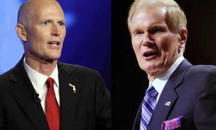 Florida Governor Rick Scott Makes Senate Run Official in Orlando