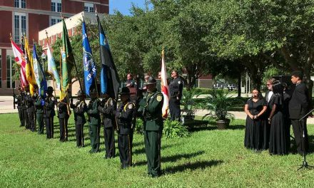 Local Law Enforcement Agencies Pay Respect to Their Lost Heroes