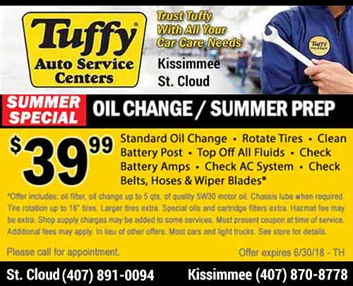 Tuffy Tire & Auto Kissimmee St. Cloud