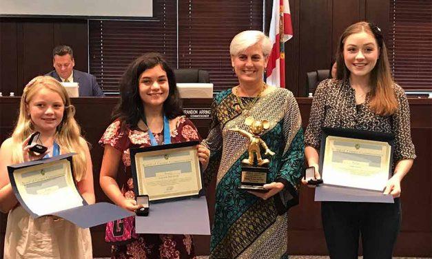 Three Osceola County Students Receive the Disney Shining Star Award