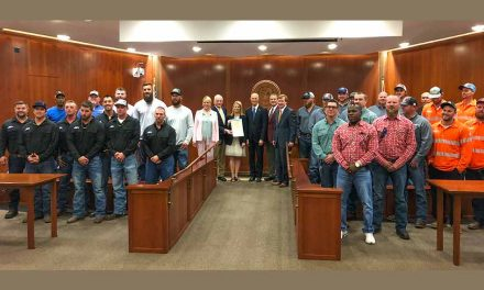 Kissimmee Utility Authority Linemen Honored By Florida Cabinet