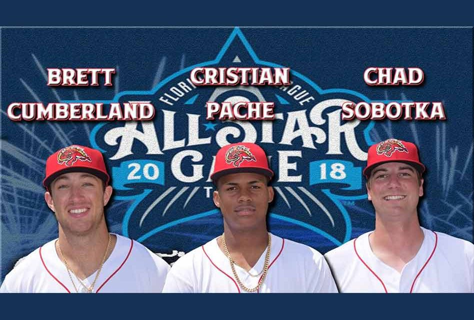 Florida Fire Frogs Send Three Players to 2018 All-Star Game