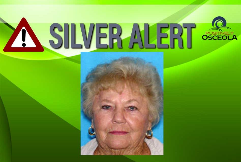 Silver Alert Issued for 87 Year Old Woman From Brevard County