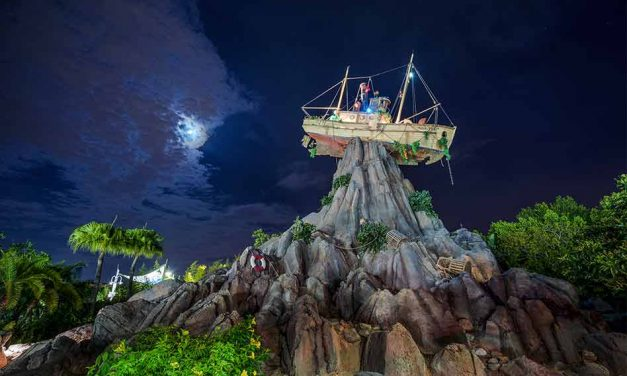 Toy Story Characters Join Disney H2O Glow Nights at Disney's Typhoon Lagoon Water Park