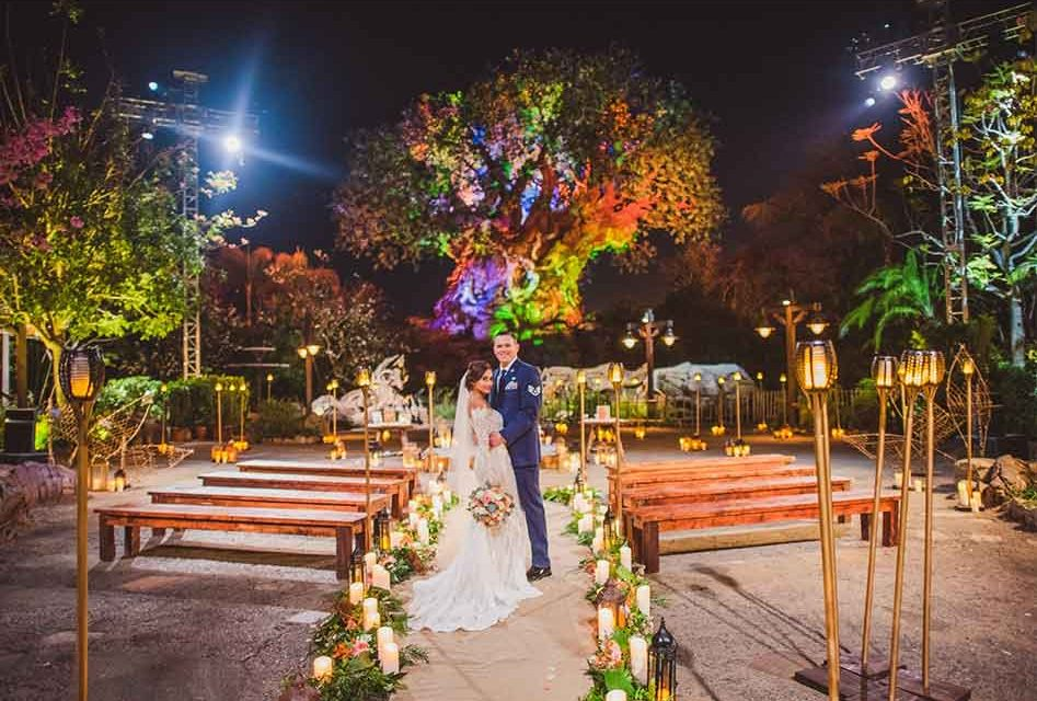 The Tree of Life at Disney's Animal Kingdom is the Perfect Wedding Backdrop