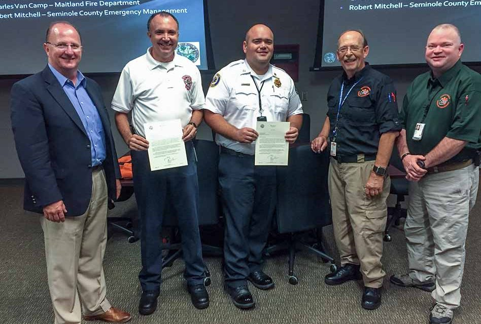 Governor Rick Scott Honors Region 5 All-Hazard Incident Management Team
