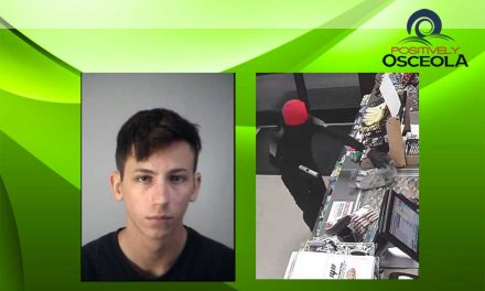 Osceola Detectives Arrest 18 Year Old Involved in Armed Robberies