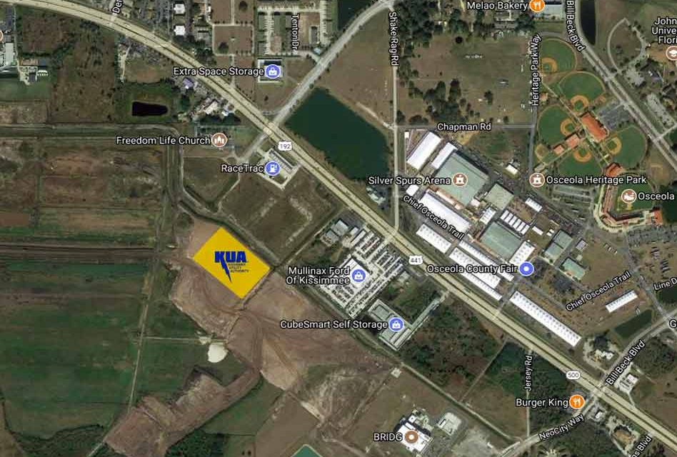 KUA Breaks Ground on Largest Electrical Substation in Kissimmee