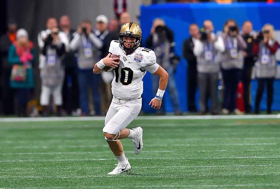 best service 9e1ae 54e8a UCF's McKenzie Milton Named To Manning Award Watch List