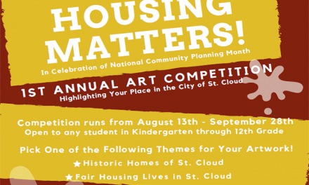 "Still 4 Days To Enter St. Cloud Planning and Zoning Department's ""Housing Matters"" Art Competition"