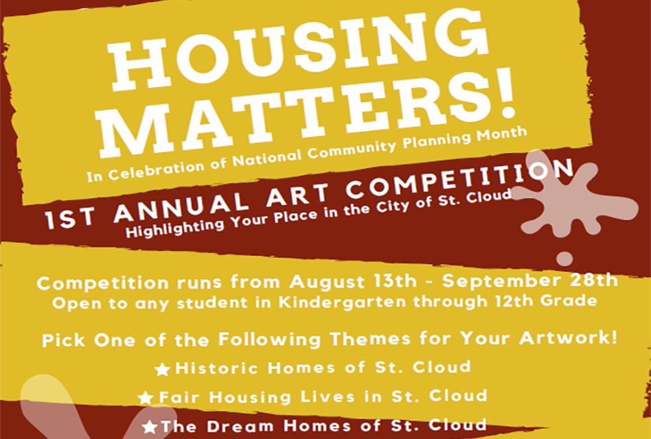 """Still 4 Days To Enter St. Cloud Planning and Zoning Department's """"Housing Matters"""" Art Competition"""