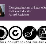 Osceola Teacher, Laurie Smith, Named As Recipient of 2018 Yale Educator Award