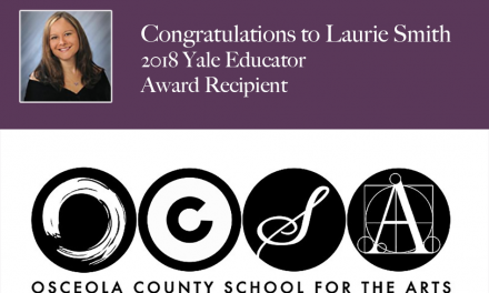 Osceola Teacher, Laurie Smith, Named As Recipient of 2018 Yale Educator Award