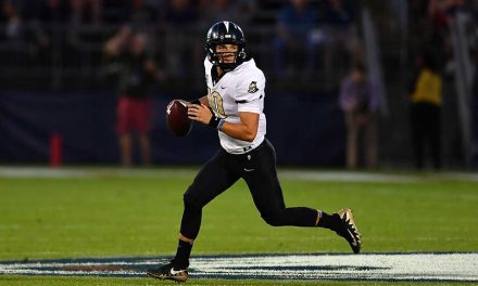 56-17 UCF Knights Win at UConn Kicks off New Era Under Josh Heupel