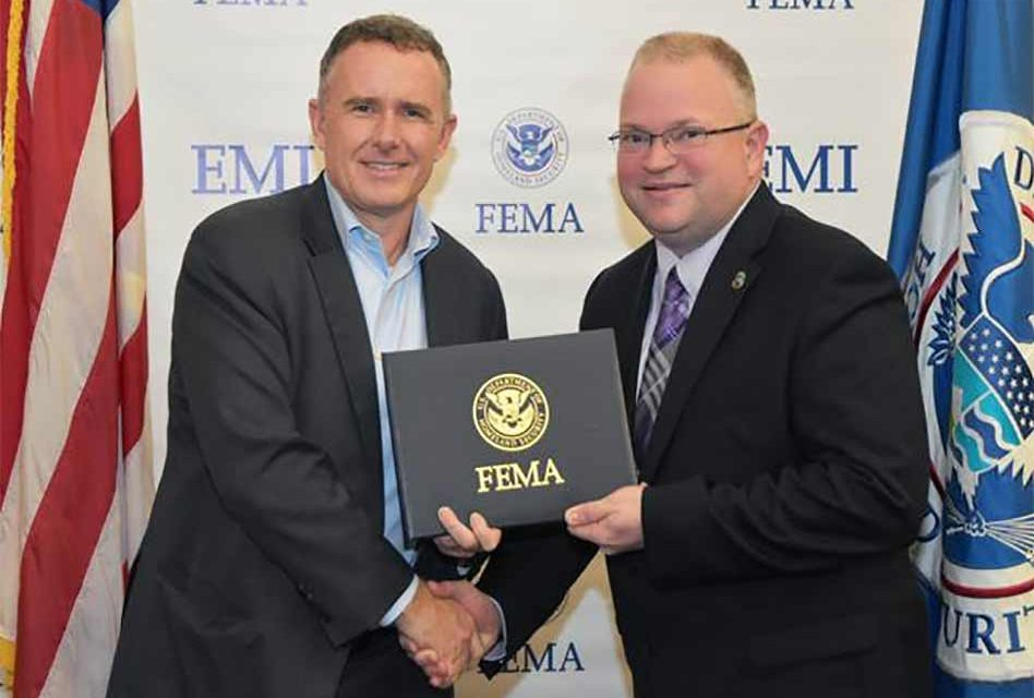 Emergency Management Director, Bill Litton, Graduates from FEMA's Advanced Academy