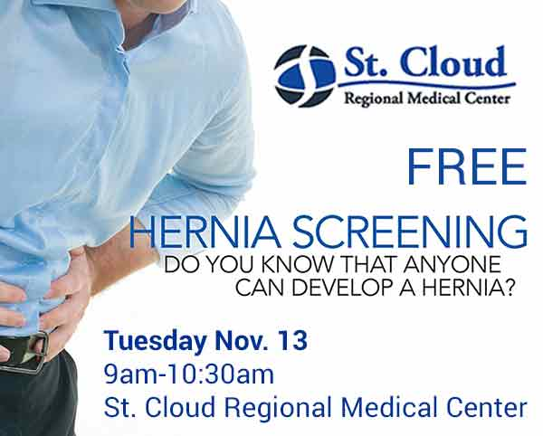 St. Cloud Regional's Free Hernia Screening