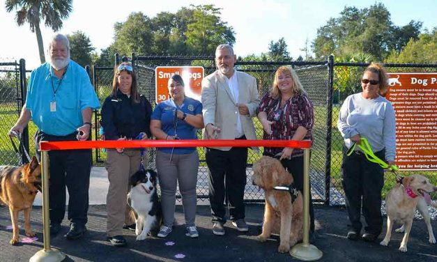Osceola County Holds Ribbon Cutting for New Walk-Up Dog Park in BVL
