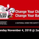 St. Cloud Fire Marshal Reminds Citizens to Change Smoke Alarm Batteries This Weekend