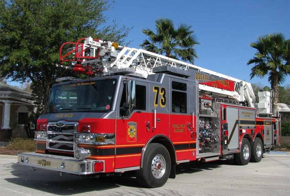 Osceola County Commissioners Approve Purchase of $2.7 Million in New Fire Equipment