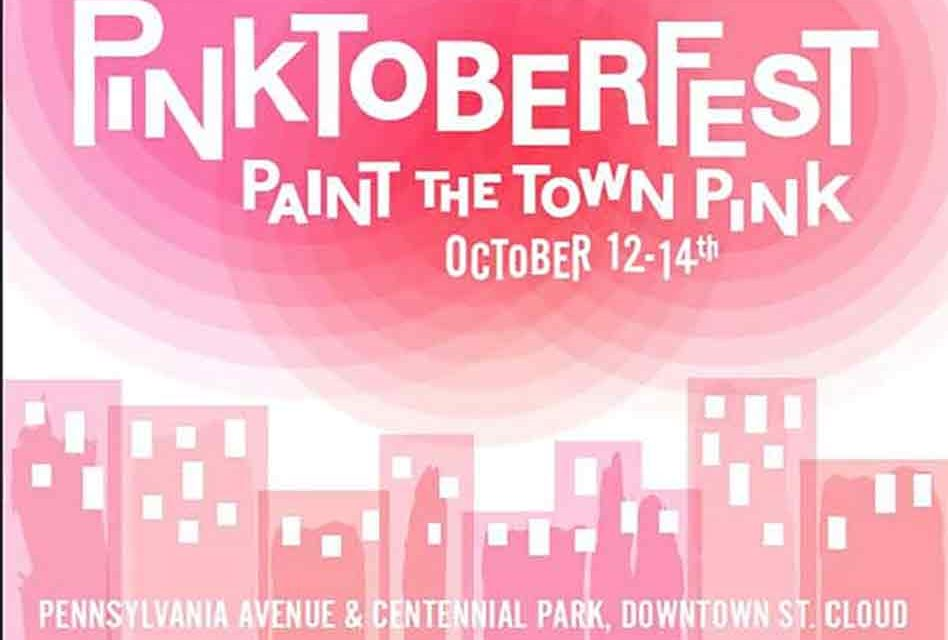 "St. Cloud's and Pink Heals ""Paints the Town Pink"" October 12th-14th"
