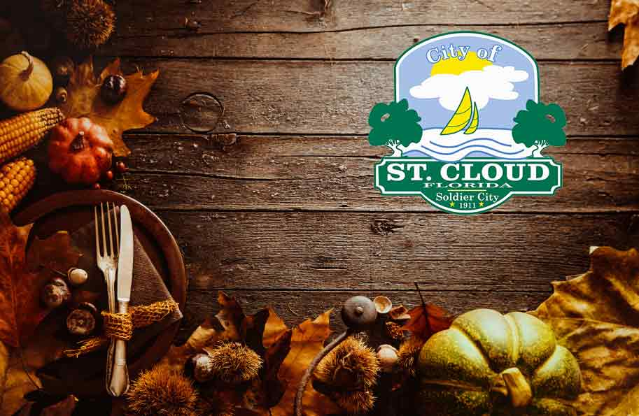 City of St. Cloud Offices Closed for Thanksgiving Holiday
