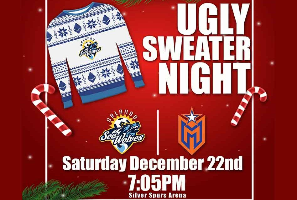 SeaWolves Arena Soccer Back in Action Saturday Night at Silver Spurs Arena
